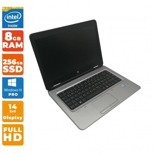 HP ProBook 640 G2 | Intel Core i5-6.Gen | 8GB DDR4 RAM | 256GB SSD | keine Webcam
