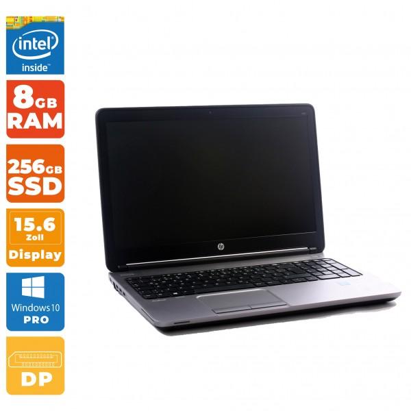 HP ProBook 650 G1 | Intel i5-4th Gen | 8GB RAM | 256GB SSD | WWAN