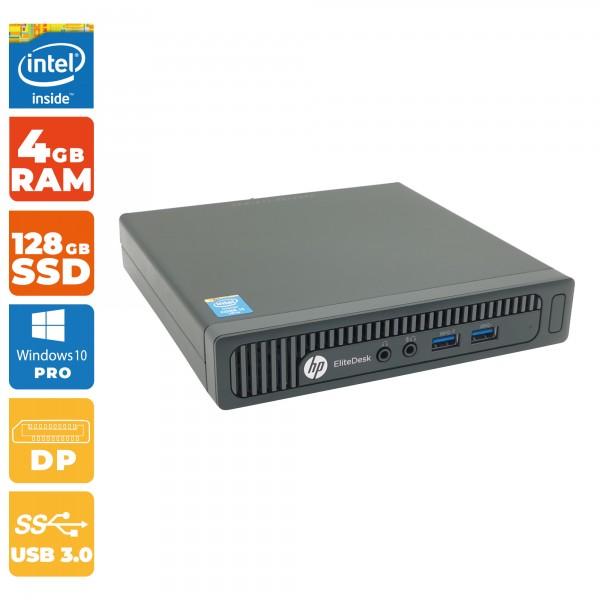 HP EliteDesk 800 G1 DM | Intel i5- 4.Gen | 4GB RAM DDR3 | 128GB SSD