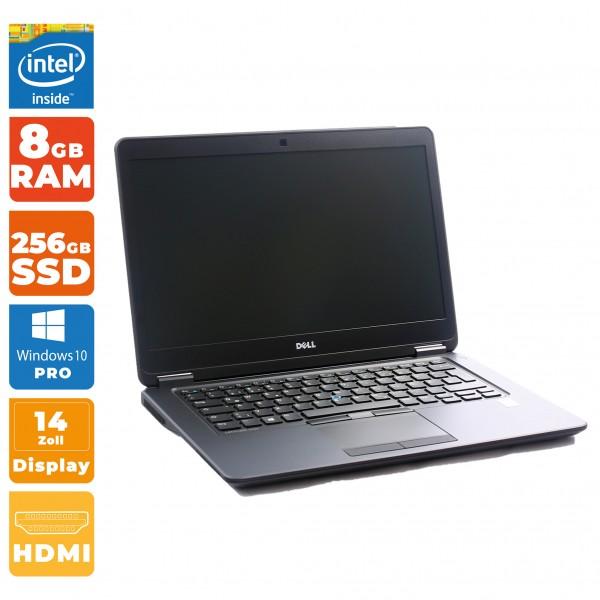 Dell Latitude E7450 Intel i5- 5.Gen | 8GB RAM | 256GB SSD