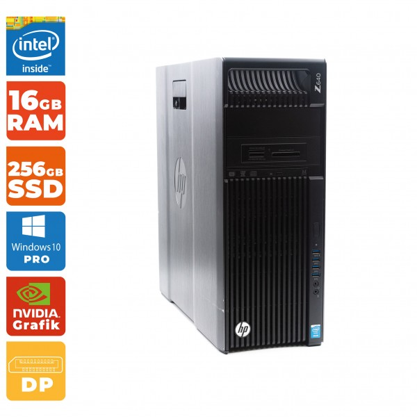 HP Z640 WorkstationIntel Xeon E5-2637 v3 | 16 GB RAM | 256 GB SSD