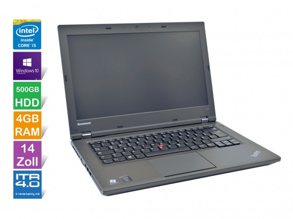 Lenovo ThinkPad L440 Notebook | Intel i5- 4.Gen | 4GB RAM | 500GB HDD