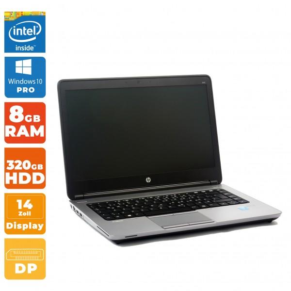 HP ProBook 640 G1 Notebook B-WareIntel i5- 4.Gen | 8GB RAM | 320GB HDD