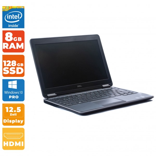 Dell Latitude E7240 Intel i5- 4.Gen | 8GB RAM | 128GB SSD