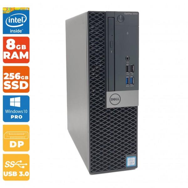 Dell Optiplex 5050 SFF-PC Intel i5- 7.Gen   8GB DDR4   256 GB SSD