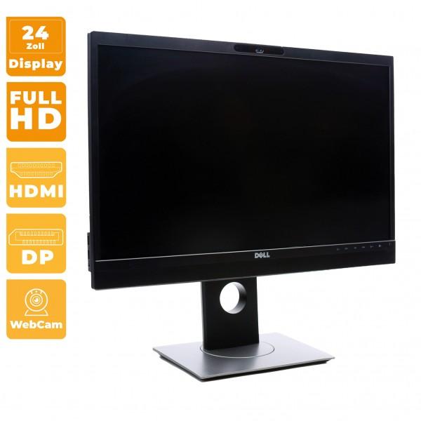 Dell P2418HZ 24 Zoll Monitor Full HD 60HZ für Videokonferenzen