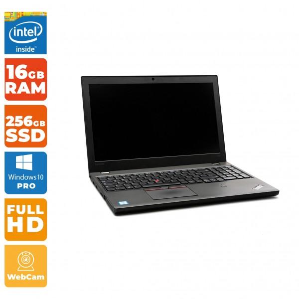 Lenovo ThinkPad T560 Notebook   Intel Core i7- 6.Gen   16 GB RAM   256GB SSD