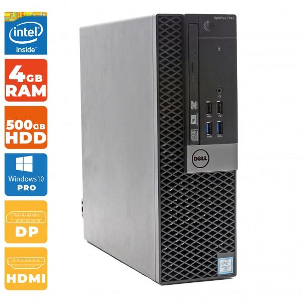 Dell OptiPlex 7040 SFF-PC Intel Core i5- 6.Gen | 4GB DDR4 RAM | 500GB HDD