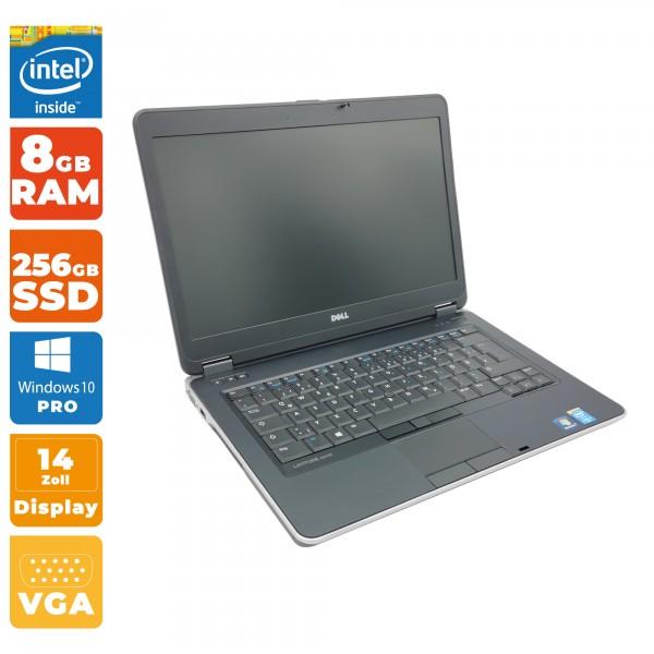 Dell Latitude E6440 Notebook   Intel i5- 4.Gen CPU   8GB RAM   256GB SSD