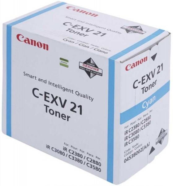 Canon Toner 0453B002 C-EXV21 Cyan