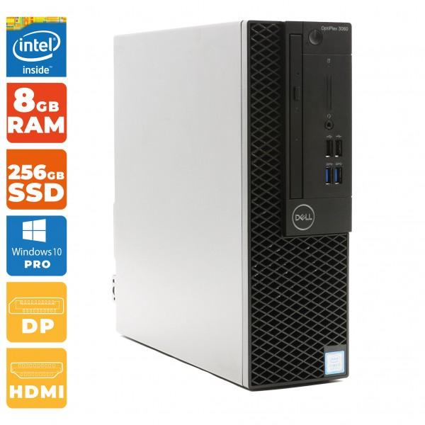 Dell OptiPlex 3060 SFF-PC Intel Core i5- 8.Gen | 8GB DDR4 RAM | 256GB SSD