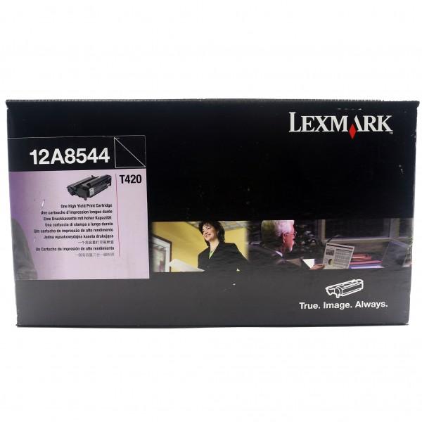 Original Lexmark Toner 12A8544 schwarz für T420