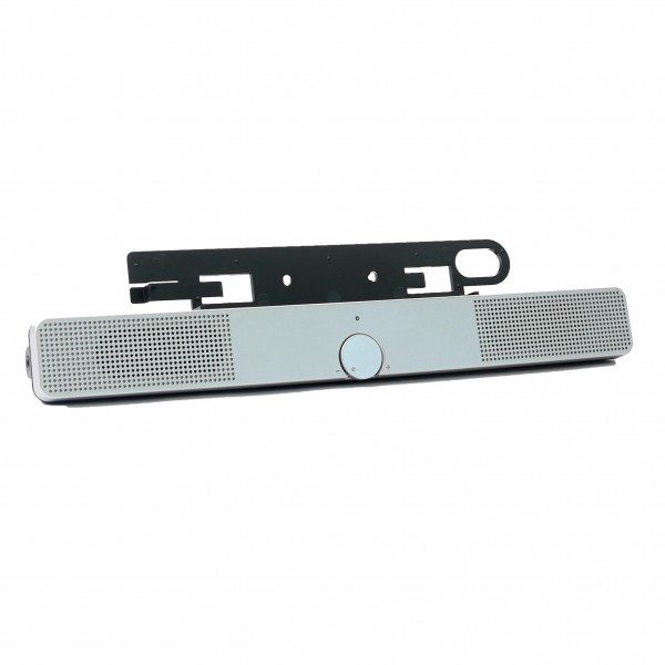 HP Silver Flat Panel Speaker Bar