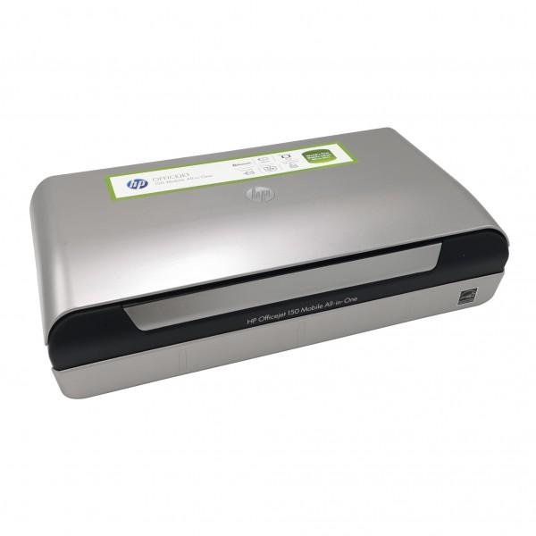 HP Officejet 150 Mobiler Multifunktionsdrucker Farbtintenstrahl | inklusive Akku | ohne Tintenpatronen