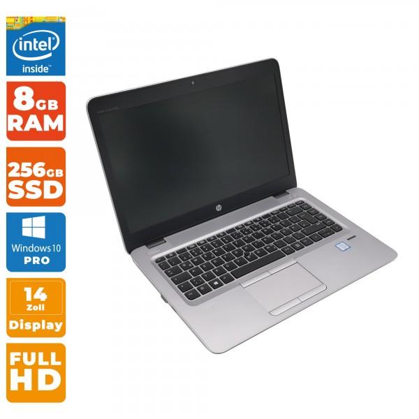 HP EliteBook 840 G3 Notebook | Intel i5-6. Gen | 8GB DDR4 | 256GB SSD | Full HD