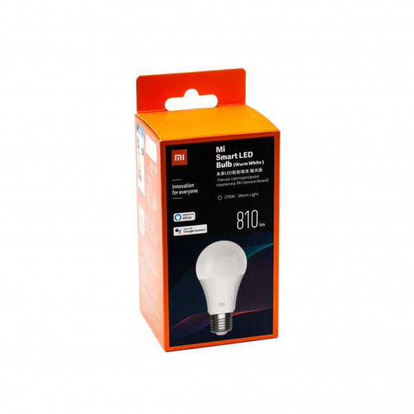 Xiaomi Mi Smarte LED-Glühbirne (Warmweiß, Dimmbar)