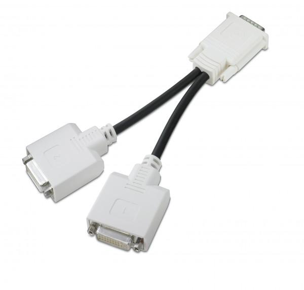 DMS-59 auf 2x DVI Adapter/ Y-Kabel für Grafikkarten