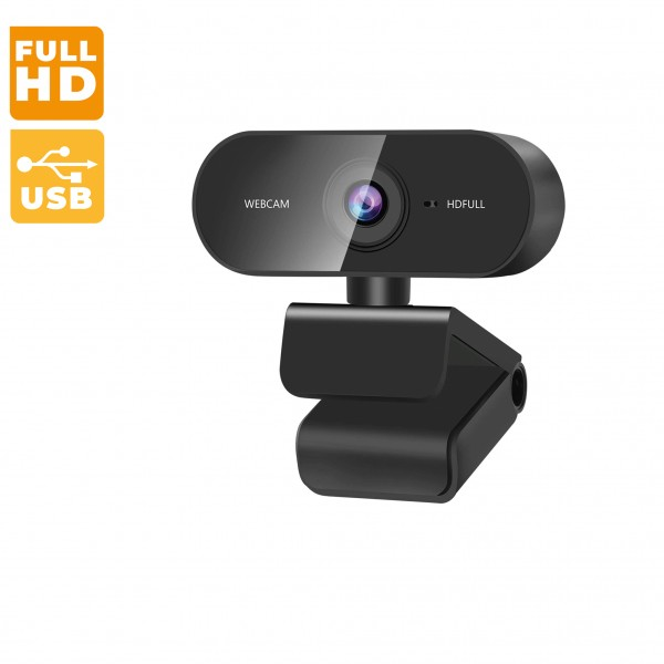 ZasLuke 1080p Full-HD Webcam built-in Microphone