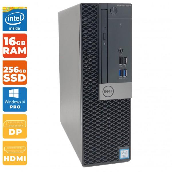 Dell Optiplex 5050 SFF-PC Intel i5- 7.Gen   16GB DDR4   256 GB SSD