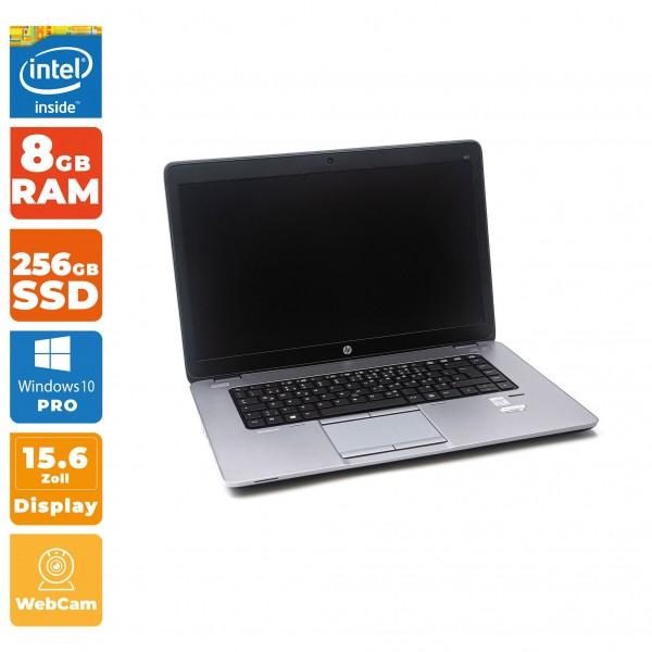 HP EliteBook 850 G1 Notebook | Intel i5- 4.Gen | 8 GB RAM | 256 GB SSD