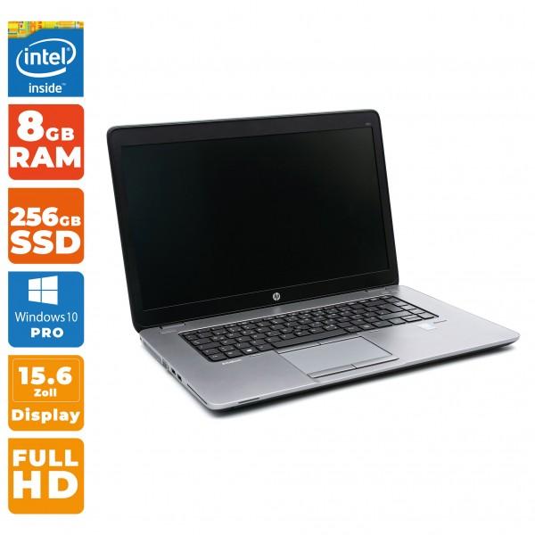 HP EliteBook 850 G1 Notebook   Intel i5- 4.Gen   8 GB RAM   256 GB SSD