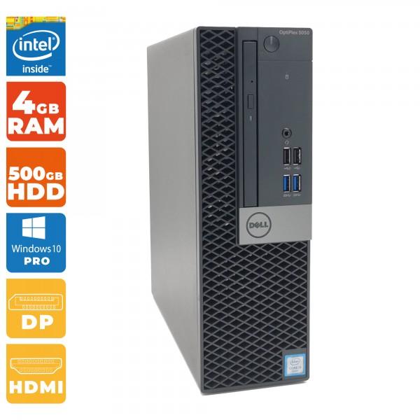 Dell Optiplex 5050 SFF Intel i3- 6.Gen | 4GB DDR4 | 500 GB HDD