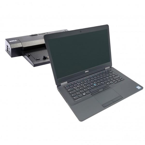 Dell Latitude E5470 Notebook inkl. Dockingstation | Intel i5- 6.Gen CPU | 8GB DDR4 RAM | 256GB SSD |