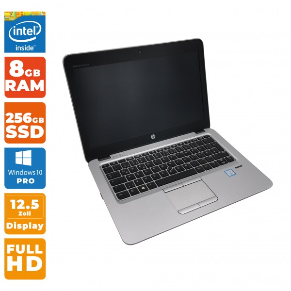 HP EliteBook 820 G3 Notebook | Intel i7-6. Gen | 8GB DDR4 RAM | 256 GB SSD